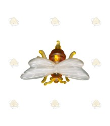 Katoenen tasje met bijenmotief