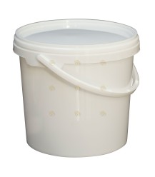 Honig-Eimer 4 kg, inkl. Deckel