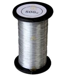 Edelstahldraht 1000 Gramm 0,4 mm