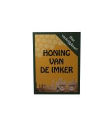 """Schild """"Honig vom Imker"""", in rot oder grün"""