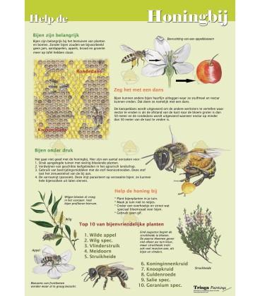 Poster helfen der Honigbiene A1