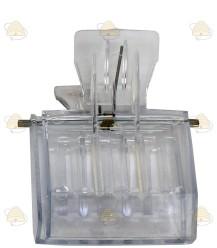 Damenclip Kunststoff (transparent)