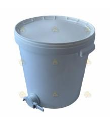 Entwässerungsgefäß Kunststoff 33 Liter