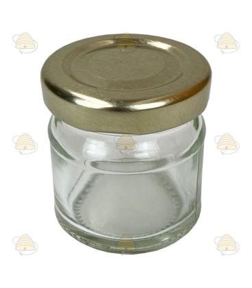 41ml / 50gramm ohne Deckel rundes Honigglas