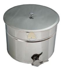 Ablassfass Edelstahl 30 Liter