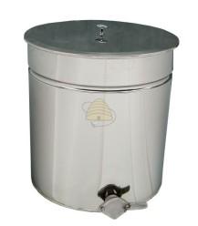 Ablassfass Edelstahl 50 Liter