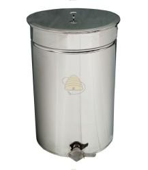 Ablassfass Edelstahl 70 Liter